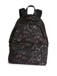 Givenchy Monkey Printed Backpack Multi