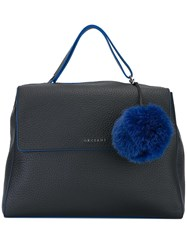 Orciani 'Soft' Tote Bag Black