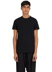 Abasi Rosborough Arc Crew Neck Pocket T Shirt Black