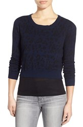 Joe's Jeans Women's Joe's Leopard Print Crop Sweater