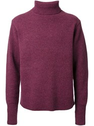 Cityshop Turtleneck Jumper Red