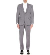 Richard James Birdseye Wool Suit Grey