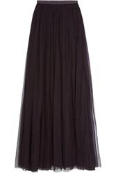 Needle And Thread Tulle Maxi Skirt Claret