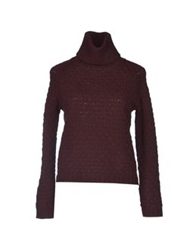 Alpha Massimo Rebecchi Turtlenecks Maroon
