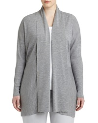 Lafayette 148 New York Shawl Collar Wool Cardigan Women's