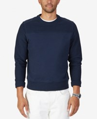 Nautica Men's Long Sleeve Sweatshirt Navy