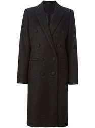 Petar Petrov Double Breasted Coat Black