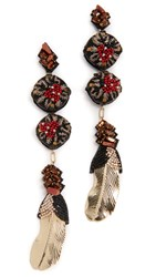 Deepa Gurnani Izzy Earrings Multi