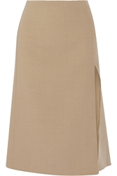 Marc Jacobs Wool Blend Stretch Cady Midi Skirt