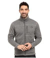 The North Face Gordon Lyons Full Zip Fleece Tnf Medium Grey Heather Men's Fleece Gray