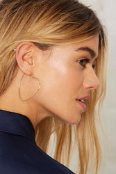 Pour Your Heart Out Earrings Gold