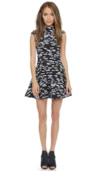 Cameo Daydreaming Dress Black Tic Tac