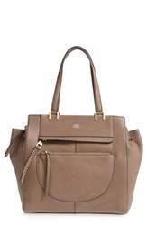 Vince Camuto 'Ayla' Leather Tote Grey Smokey Quartz