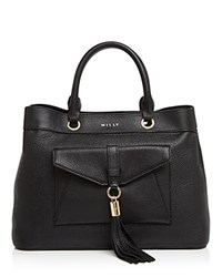 Milly Astor Tote Black Gold