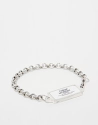Cheap Monday Ny Bracelet Silver