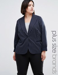 Junarose Plus Blazer Navy