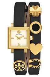 Tory Burch Women's 'Saucy' Double Wrap Leather Strap Watch 25Mm