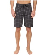 Prana El Porto Short Grey Men's Swimwear Gray