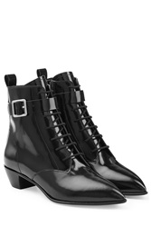 Marc By Marc Jacobs Leather Ankle Boots Black