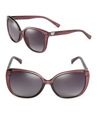 Calvin Klein 58Mm Square Sunglasses Purple