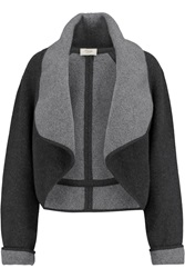 Temperley London Catalin Wool Blend Jacket Gray