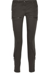 Belstaff Rori Mid Rise Skinny Jeans Anthracite