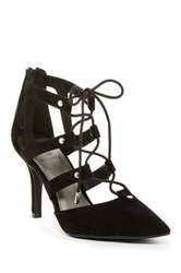 G By Guess Krona Lace Up Pump Black