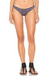 Rvca Harmonic Stripe Cheeky Bottom Black
