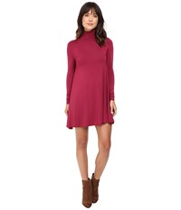 Lamade Penny Dress Oxblood Women's Dress Red