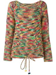 Chloe Ribbed Rainbow Jumper Multi Coloured