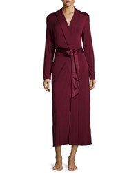 Fleurt Take Me Away Belted Long Robe Raisin
