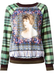 Clover Canyon All Over Print Sweatshirt Green