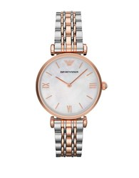 Emporio Armani Ladies Gianni Two Tone Watch