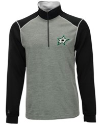 Antigua Men's Dallas Stars Breakdown Quarter Zip Pullover