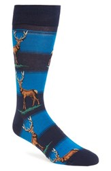 Hot Sox Men's 'Elk' Socks