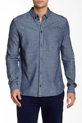 Eleven Paris Malawi Long Sleeve Shirt Blue