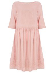 Nougat London Poppy Linen Dress Pink