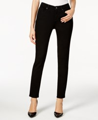Charter Club Bristol Saturated Black Wash Ankle Skinny Jeans Only At Macy's