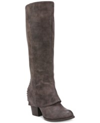 Fergalicious Lundry Cuffed Tall Boots Women's Shoes Taupe