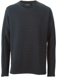3.1 Phillip Lim Quilted Sweatshirt Blue