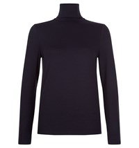 Hobbs Mischa Roll Neck Blue
