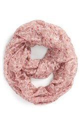 Junior Women's Bp. Woven Floral Print Infinity Scarf