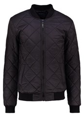 Blend Of America Bomber Jacket Black Mottled Anthracite