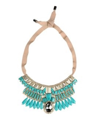 Matthew Williamson Necklaces Turquoise