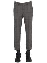 Neil Barrett Wool Prince Of Wales Pants