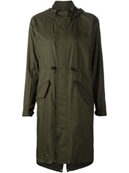 Julien David Parka Coat Green