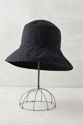 Anthropologie Promenade Bucket Hat Black