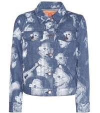 Marc Jacobs Printed Cotton Jacket Blue