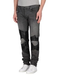 Christian Dior Dior Homme Denim Pants Black