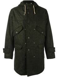 Equipe '70 Hooded Parka Green